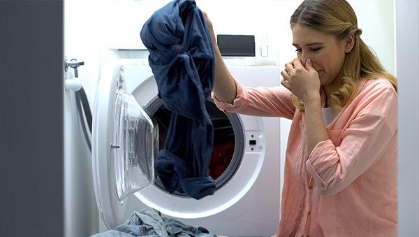Dryer bad smell