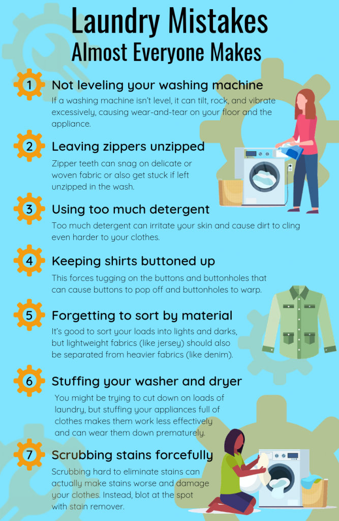 Laundry Mistakes Almost Everyone Makes