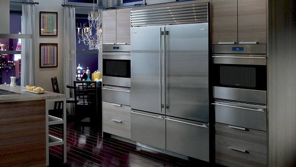 clean Sub-Zero refrigerator coils