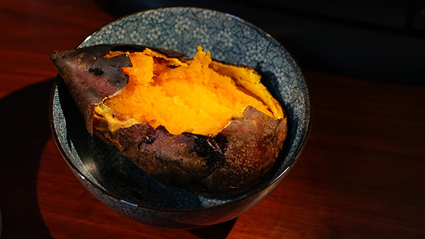 stains from sweet potatoes