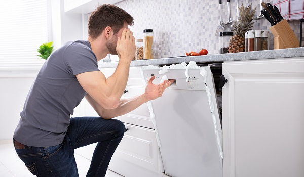 dishwasher is leaking