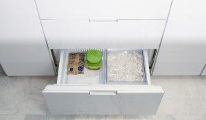 sub zero refrigerator ice tastes bad