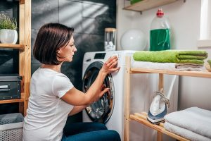 bosch washer not draining