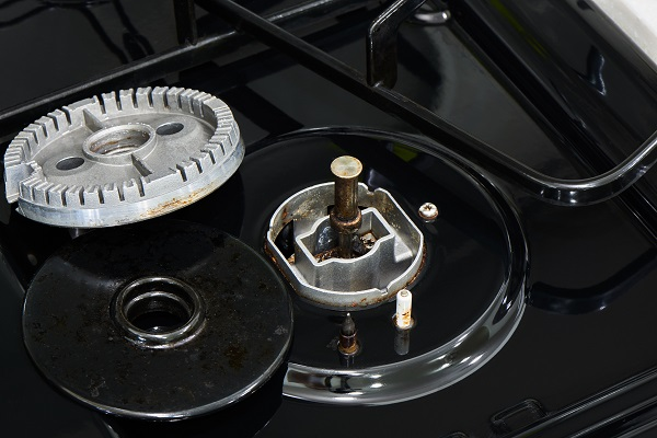 wolf gas range cleaning tips